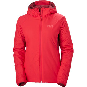 Helly Hansen Odin Stretch Stretch Hooded Insulated Jacket Women, raspberry